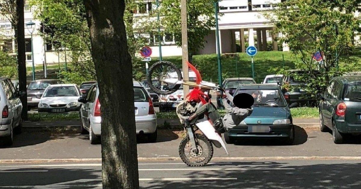 2 rodeo.jpg?resize=1200,630 - Loire: lors d'un rodéo sauvage à moto, un jeune homme a partiellement eu la jambe arrachée
