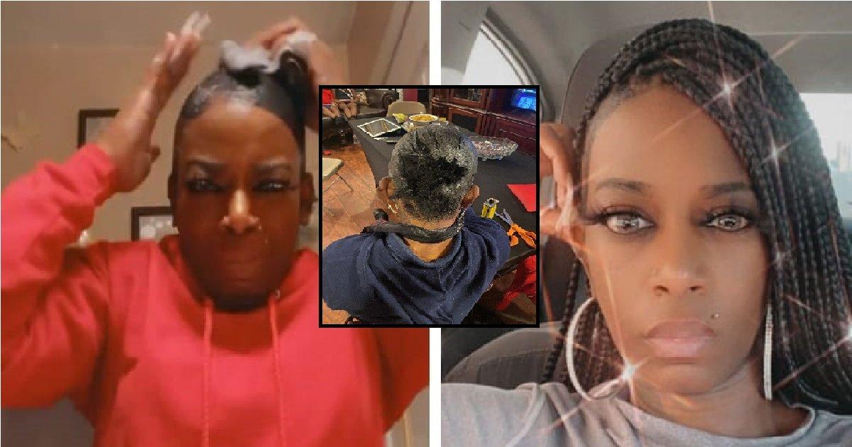 2 tessica.jpg?resize=412,232 - La jeune fille qui s'était collée les cheveux avec de la glue a été opérée gratuitement
