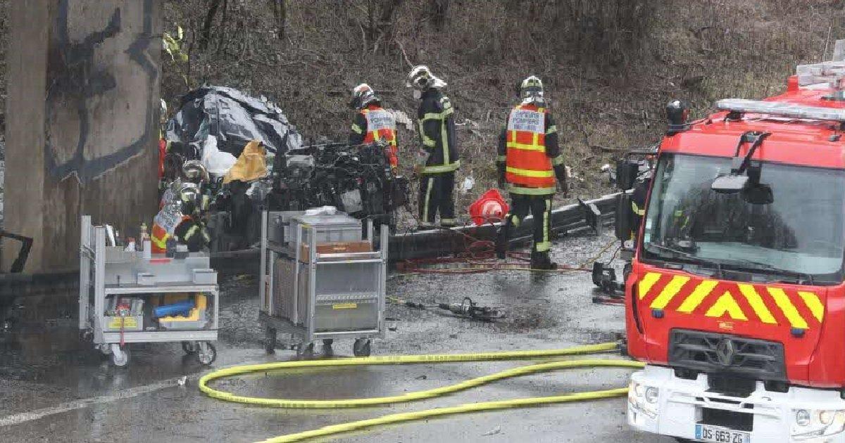 3 acc.jpg?resize=1200,630 - Mulhouse: quatre amis d'enfance sont morts dans un accident de la route sur l'A36