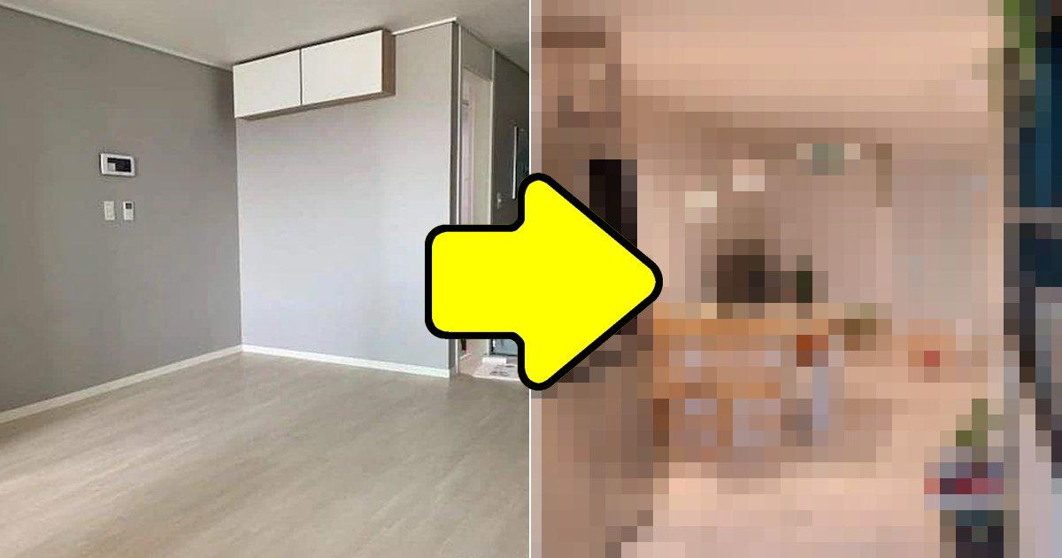 """4 6.jpg?resize=1200,630 - """"같은 집 맞아?""""... 공간 활용 미쳤다는 '원룸' 신혼집"""