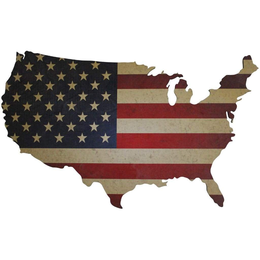 how many bands on the US flag