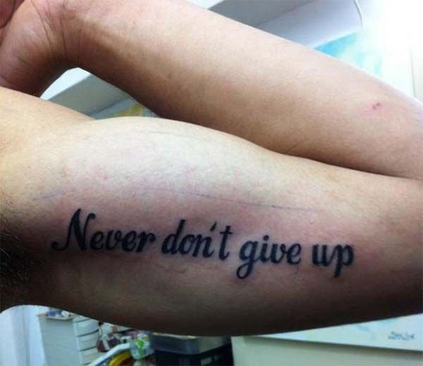 messed up tattoos