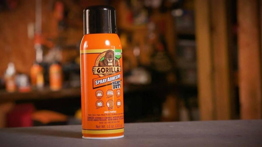 Resultado de imagen de pegamento en aerosol Gorilla Glue