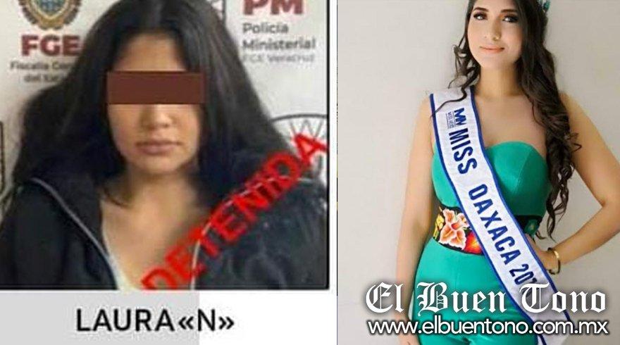 Resultado de imagen de Detienen a Miss Oaxaca 2018