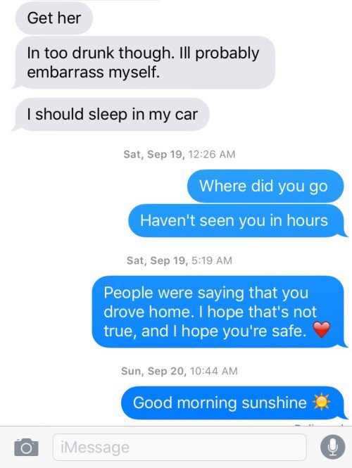 last texts