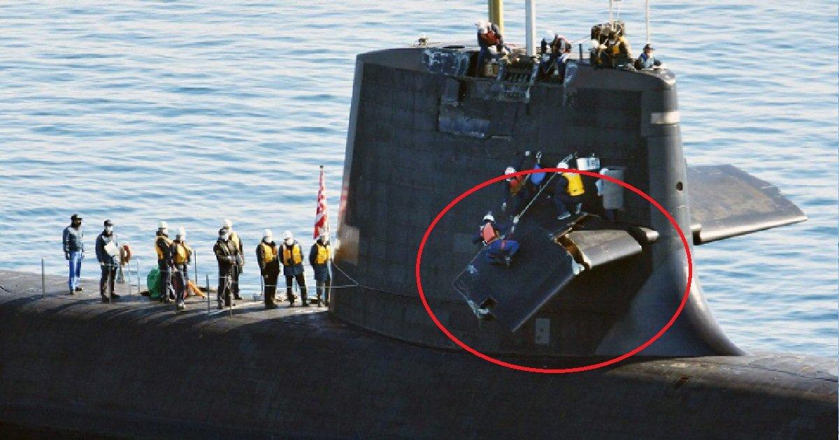 8 sm 1.jpg?resize=1200,630 - Mauvaise manipulation: un sous-marin japonais a percuté par accident un navire de commerce