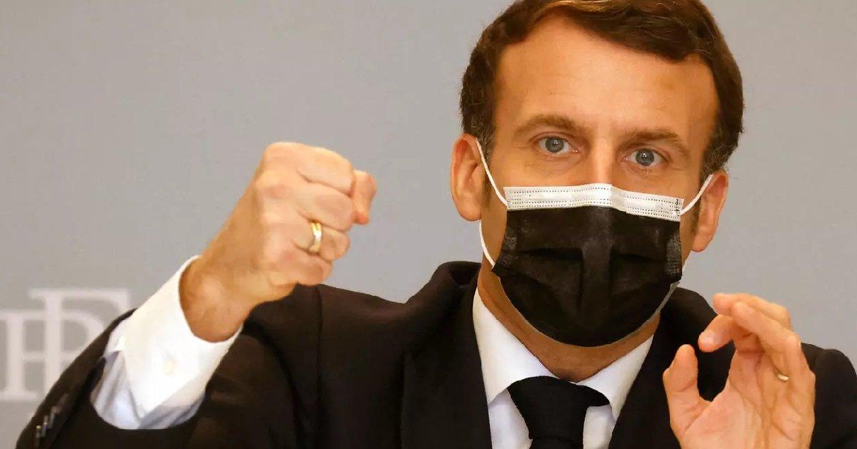 """9 macron 1.jpg?resize=1200,630 - Covid-19: Emmanuel Macron se donne """"8 à 10 jours"""" avant de relâcher ou resserrer les restrictions"""