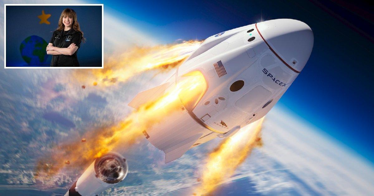 9 spacex 1.jpg?resize=412,275 - Guérie d'un cancer, elle va bientôt voyager dans l'espace à bord du premier vol privé de SpaceX