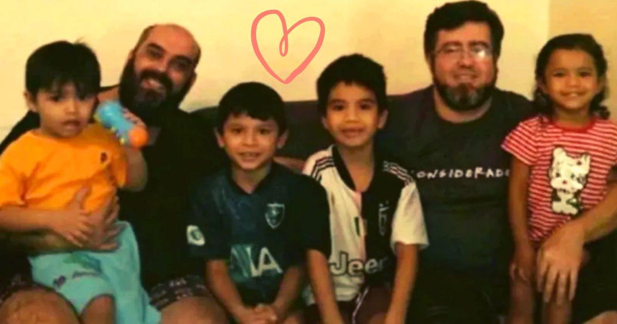 articulosportadas 1 6.png?resize=1200,630 - Pareja Del Mismo Generó Logró Adoptar A Cuatro Hermanos