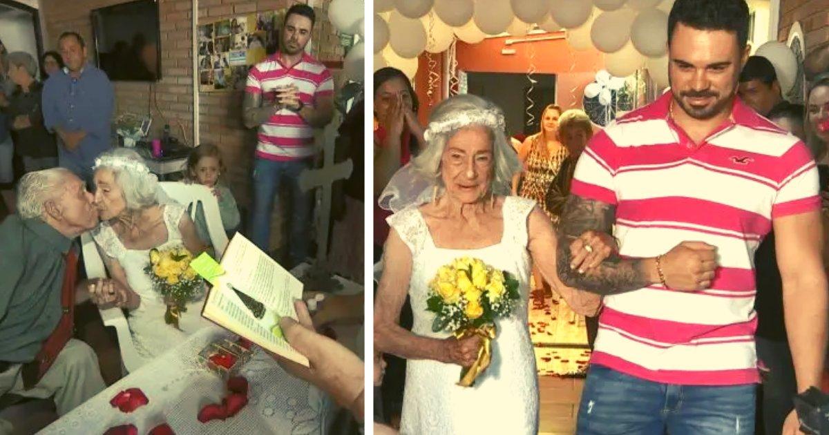 articulosportadas 4 1.png?resize=1200,630 - Se Casa A Los 95 Años Con El Amor De Su Vida En El Mismo Sitio Donde Se Conocieron