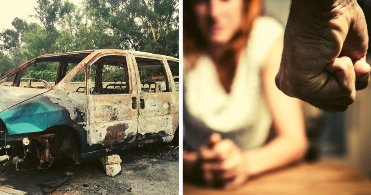 articulosportadas 44.png?resize=1200,630 - Golpeó A Su Pareja Hasta Quitarle La Vida Y Luego La Incendió Dentro De Un Vehículo