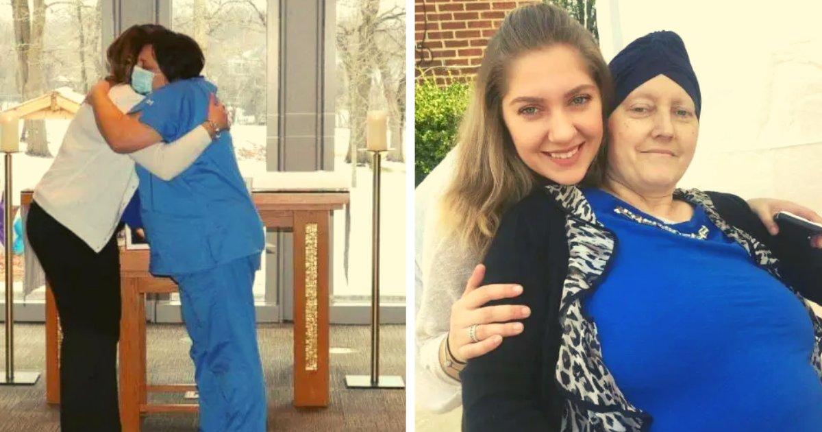 articulosportadas 54.png?resize=412,232 - Antes De Fallecer Le Pidió A Su Enfermera Que Asistiera A La Graduación De Su Hija Para Abrazarla