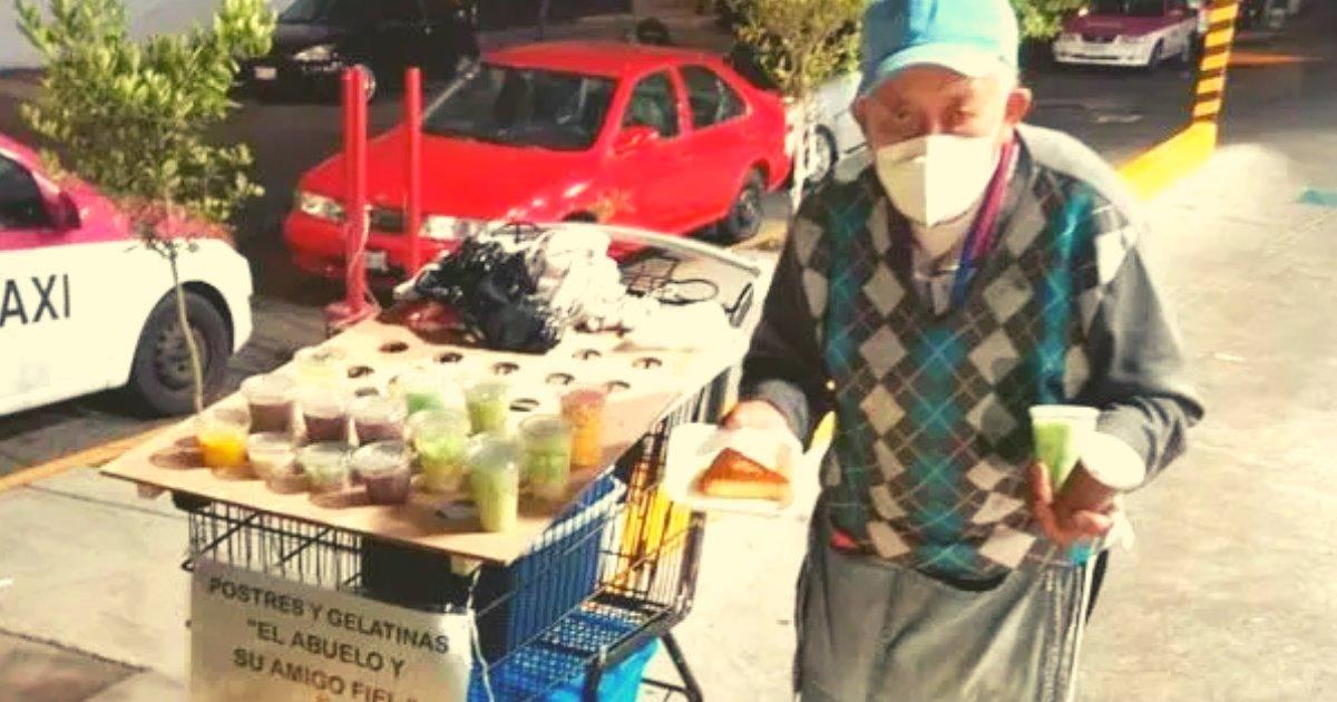 articulosportadas 57.png?resize=1200,630 - Abuelo Vende Comida Para Recaudar Dinero Y Lograr Operar A Su Nieto