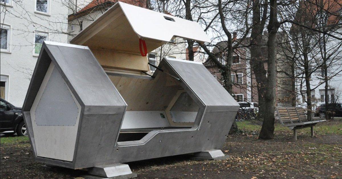 capsules anti froid.png?resize=1200,630 - Allemagne : des capsules anti-froid ont été conçues pour protéger les sans-abris en hiver