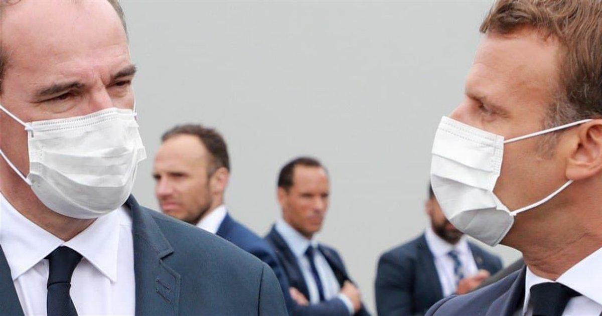 castex macron.png?resize=1200,630 - Selon un sondage, Macron est de plus en plus populaire chez les jeunes