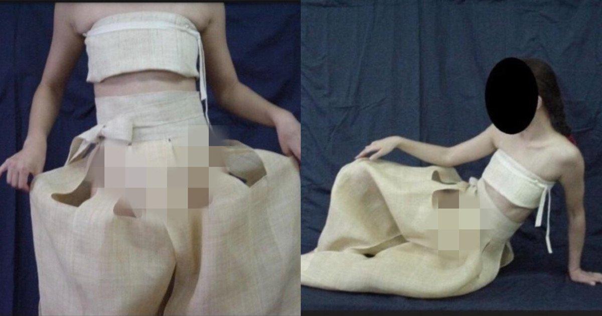 """d1bf0d09 7506 48a6 813e 37060f0b9e73.jpeg?resize=1200,630 - """"구멍이 송송 뚫려서 착용샷이..""""…후방을 주의해야하는 조선 시대 여성의 여름 속옷.jpg"""