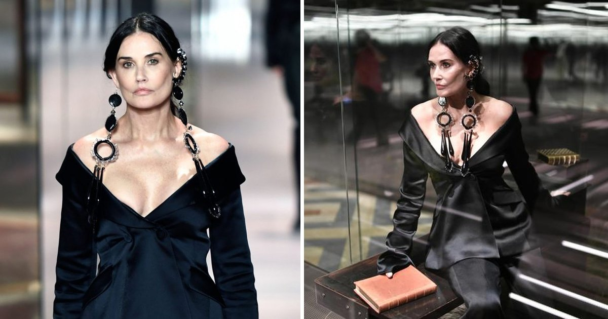 dffdf.jpg?resize=1200,630 - Demi Moore Displays 'Unrecognizable' Face At Paris Fashion Week