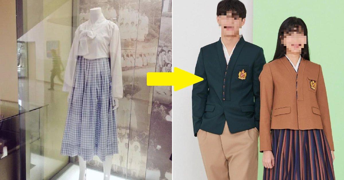 """eca09cebaaa9 ec9786ec9d8c 20.png?resize=412,232 - """"요즘 교복보다 예쁜데???""""....네티즌 사이에서 난리난 '1900년대 교복 디자인' (+사진)"""