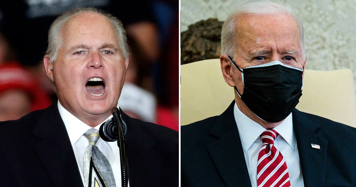 fffss.jpg?resize=1200,630 - Rush Limbaugh Lashed Out At Biden In Final Facebook Post Before His Death