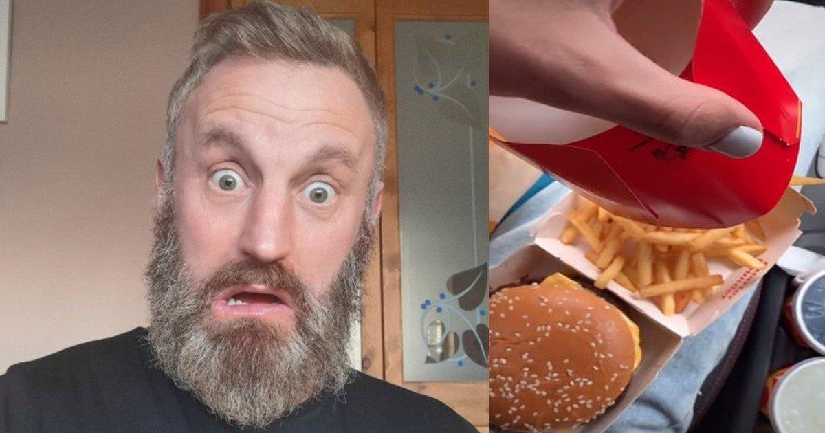 fgsdgsg 1 4 3.jpg?resize=1200,630 - Dad Finds 'Unusually Amusing' Shaped Chicken In McDonald's Box
