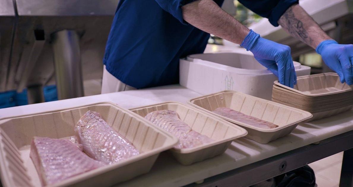 france bleu e1614255643774.jpg?resize=1200,630 - Auchan va bannir les barquettes en plastiques de ses rayons boucherie et poissonnerie