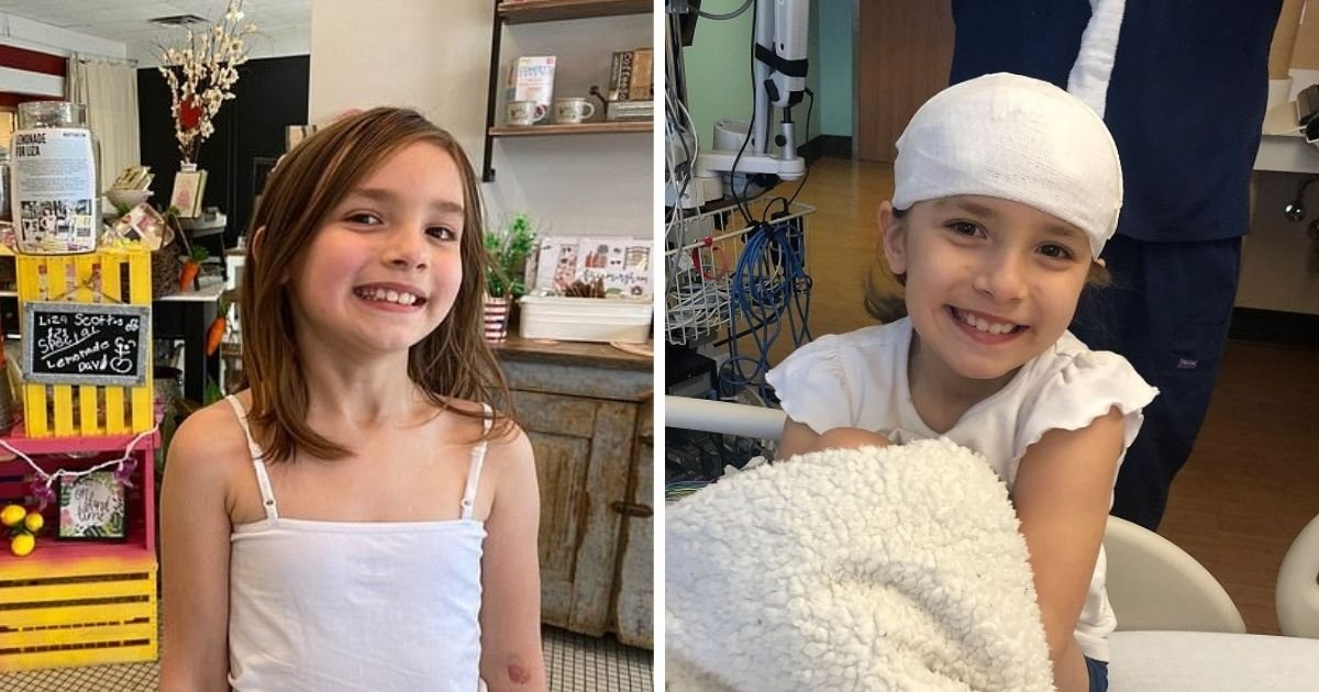 fundraiser brain surgeries.jpg?resize=412,232 - Young Girl Sells Lemonade To Raise Funds For Her Life-Saving Brain Surgeries