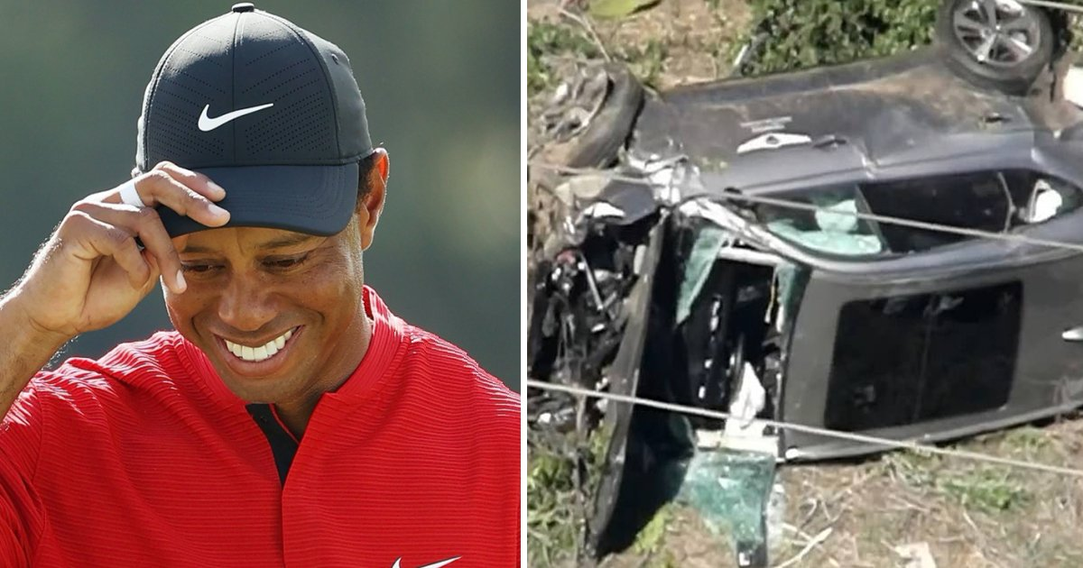 gagagag.jpg?resize=1200,630 - Tiger Woods Taken To Hospital After Serious Car Accident