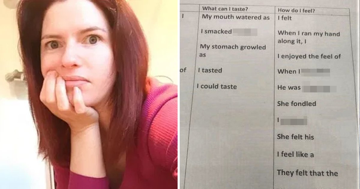 gsgsggg.jpg?resize=412,232 - Mum Mortified As School Sends 'Inappropriately S*xual' Homework For Young Child