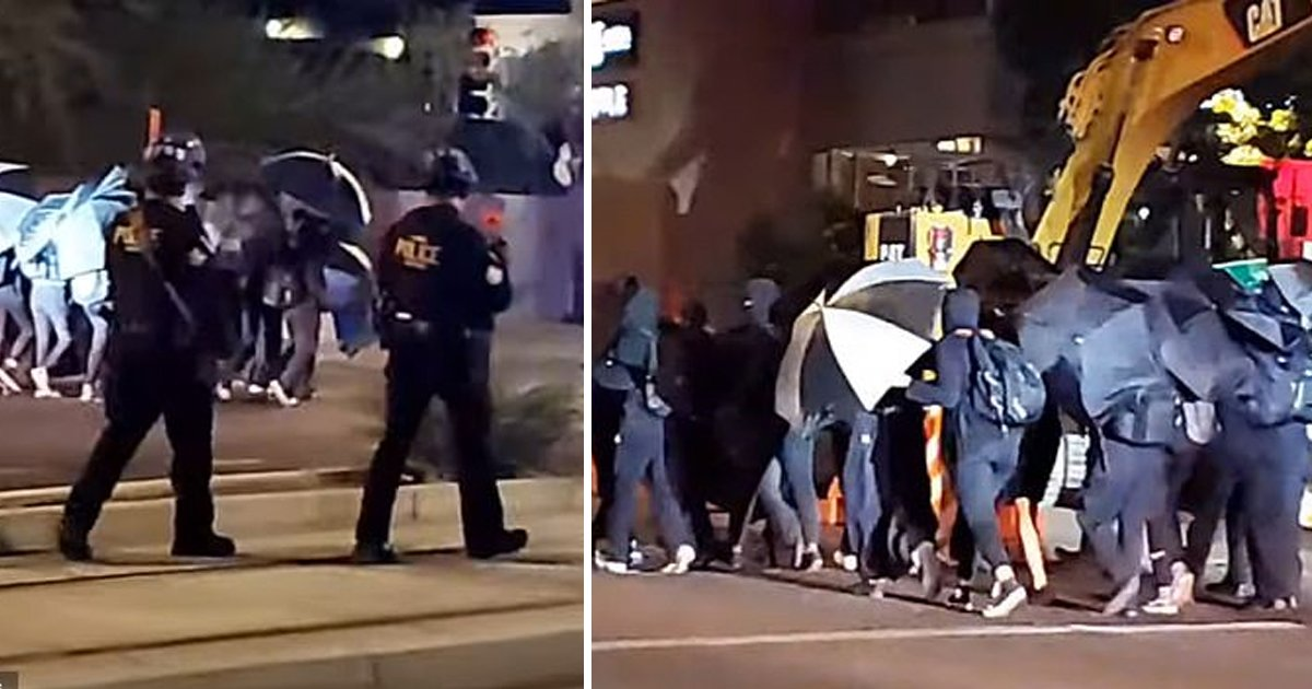 gsgsgsg.jpg?resize=1200,630 - Phoenix Cops Caught On Bodycam Expressing Desire To 'Gas' & 'Stomp On' BLM Protesters