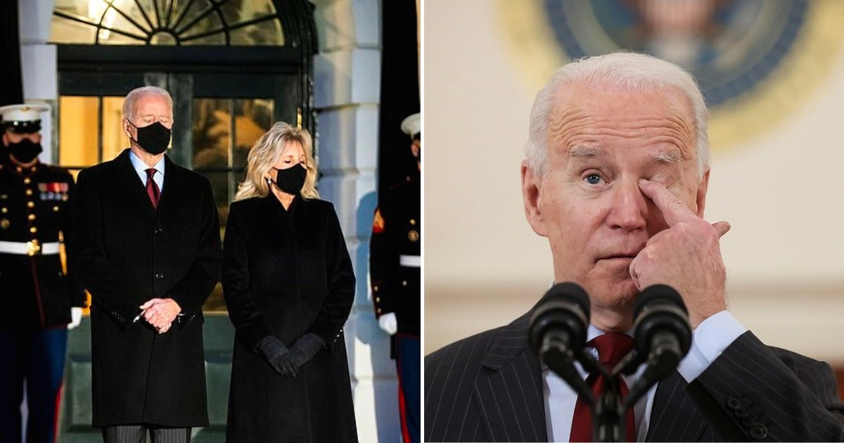 joe7.png?resize=1200,630 - President Joe Biden Remembers 500,000 COVID Deaths With Candlelit Ceremony At The White House