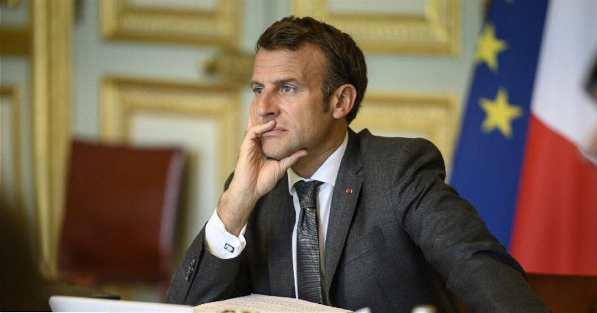 macron.png?resize=412,232 - Emmanuel Macron en aurait assez des scientifiques qui lui recommandent de reconfiner