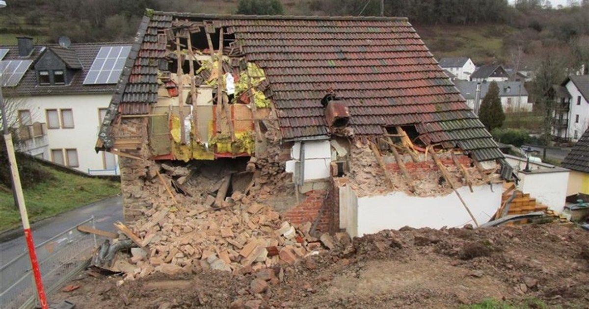 maison demolie.png?resize=1200,630 - Allemagne : un propriétaire a délogé son locataire en démolissant sa maison