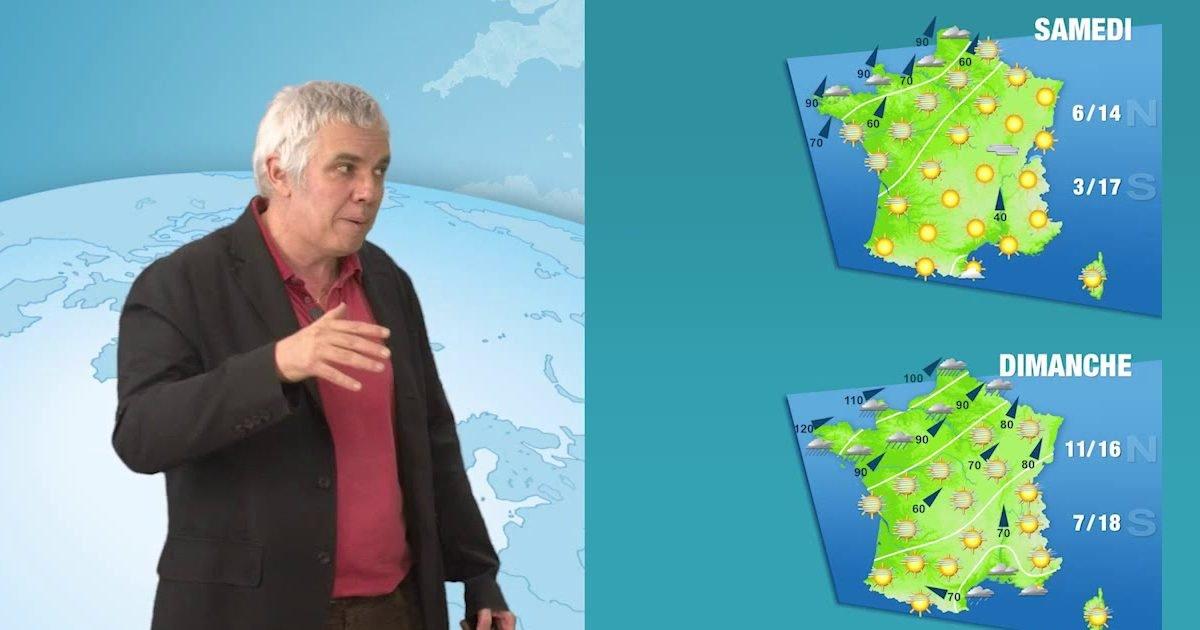 maxresdefault 1 1 e1613750457453.jpg?resize=1200,630 - Des températures particulièrement douces prévues ce week-end en France