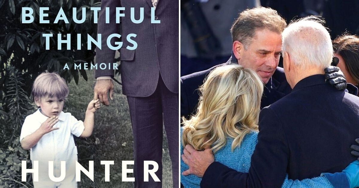 memoir5.jpg?resize=1200,630 - President Joe Biden's Son Hunter Biden To Publish Memoir 'Beautiful Things'