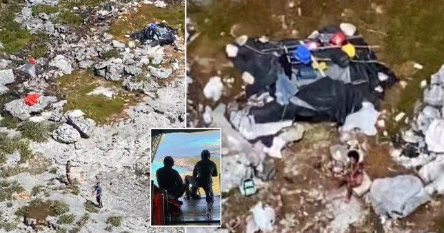 prc 182281524.jpg?resize=1200,630 - Tres Personas Fueron Salvadas De Una Isla Desierta Después De Vivir De Cocos Y Ratas Durante