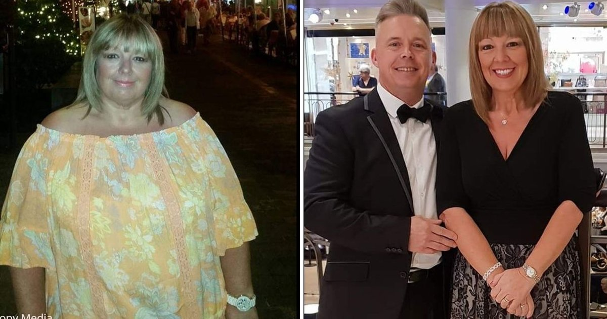 sdfsdfffss.jpg?resize=1200,630 - Woman Loses '144 Pounds' Because She Didn't Want To Be Husband's Fat Wife
