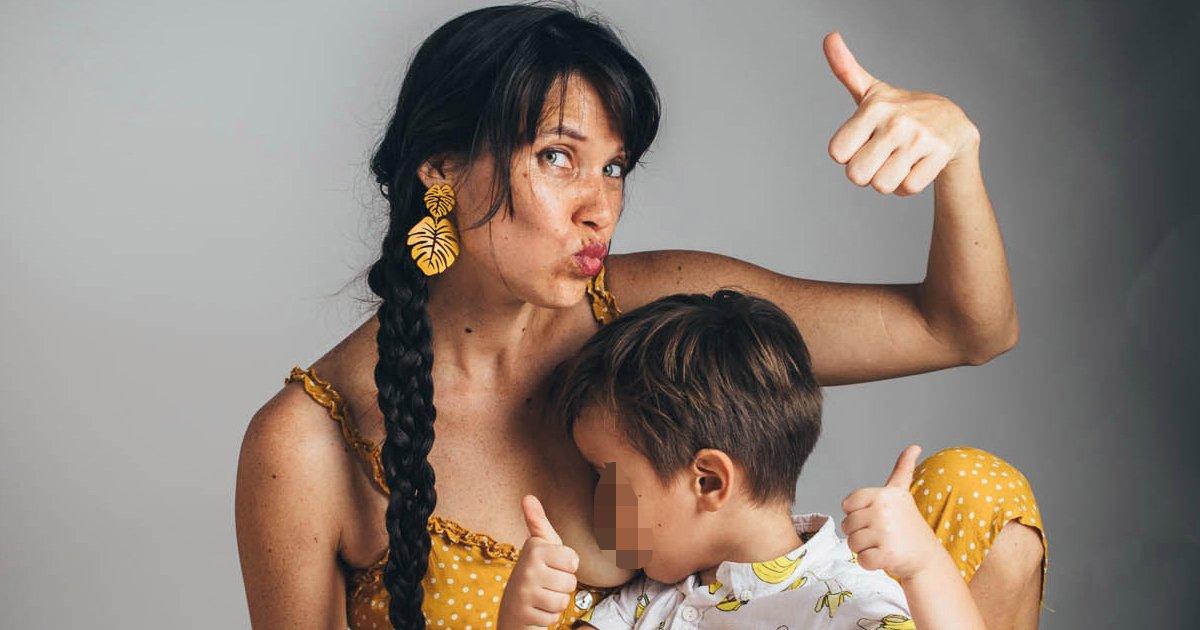 sgsgsgsgssssggg.jpg?resize=412,275 - Mum Branded As A 'Child Abuser' For Breastfeeding Her 5-Year-Old Son