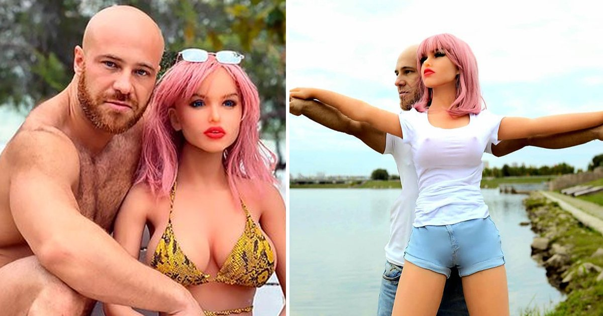 ssssssfeee.jpg?resize=1200,630 - Bodybuilder Who Wed S** Doll Seeks New Pleasure With Robots & Chicken