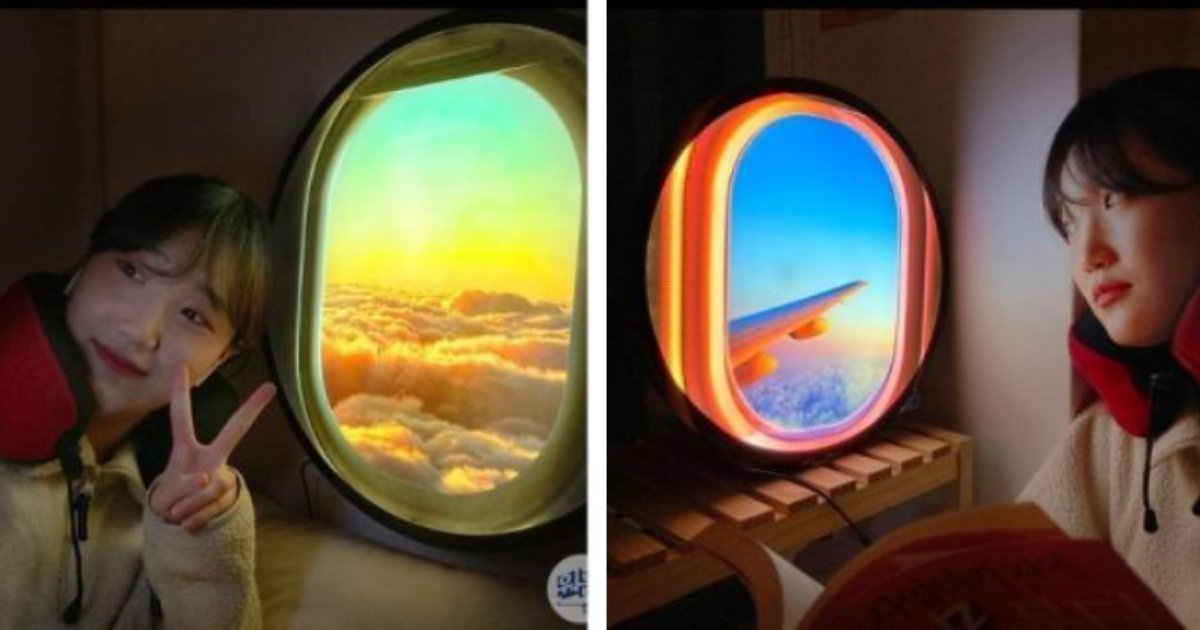 titulo 11.png?resize=1200,630 - Compañía Lanza Lámpara De Ventana De Avión Realista Para Personas Que Extrañan Viajar