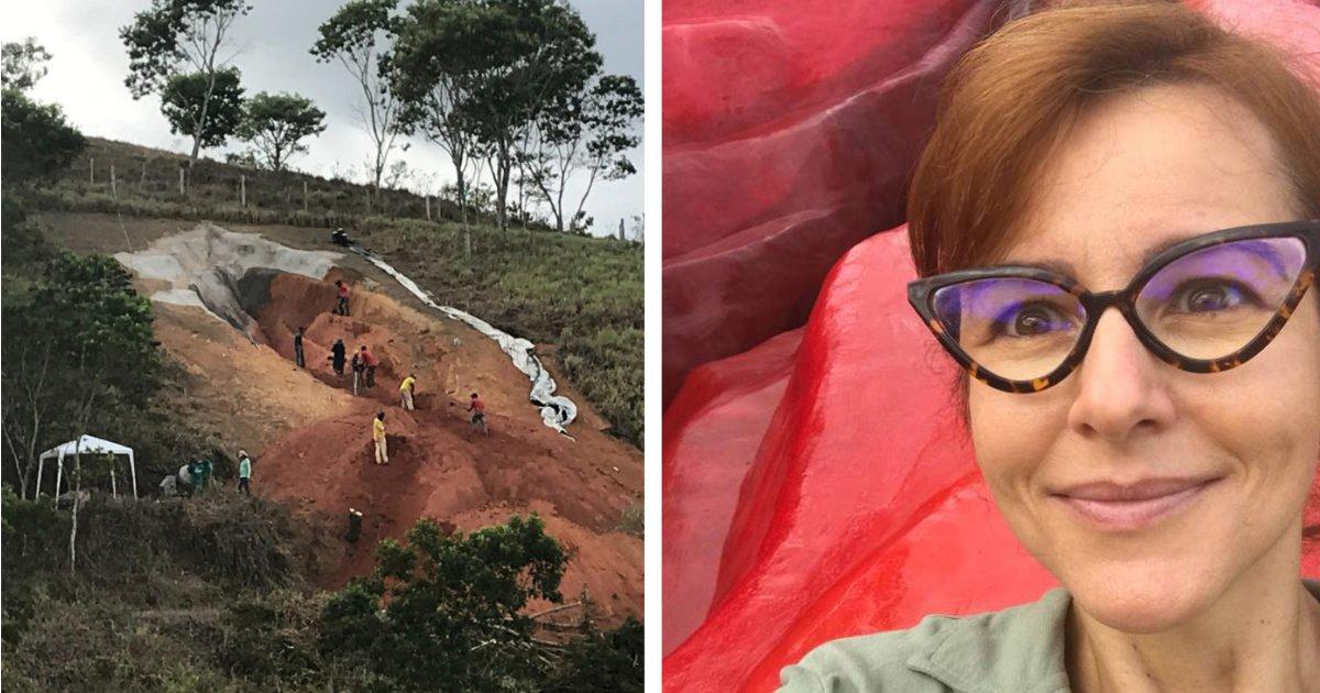 titulo 17 1.png?resize=1200,630 - Una Mujer Crea Una Enorme Escultura De Vagina Y La Coloca En Un Parque Rural