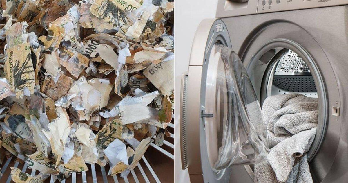 titulo 2 6.png?resize=412,275 - Lavó Su Dinero En La Lavadora Por Miedo Al Coronavirus Y Lo Perdió Todo