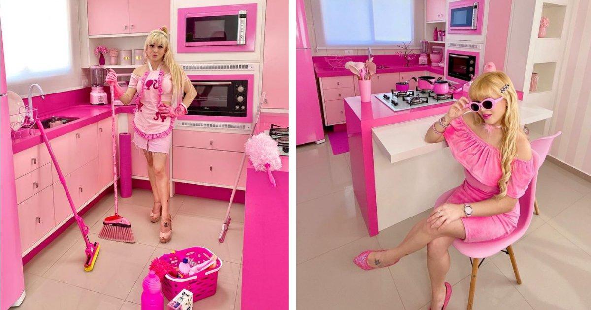 titulo 22 2.png?resize=1200,630 - Mujer Obsesionada Con El Rosado Se Convierte En Una Barbie De La Vida Real