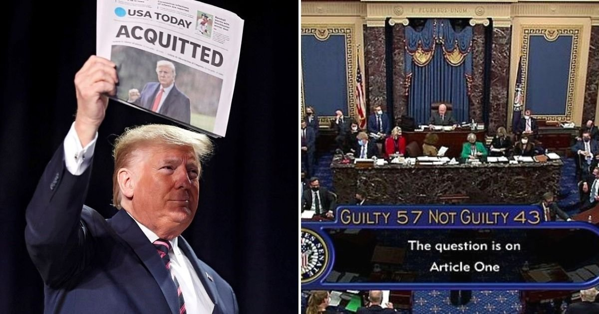 trump5 1.jpg?resize=1200,630 - Former President Donald Trump Hints At Comeback After Senate Voted To Acquit Him For The Second Time