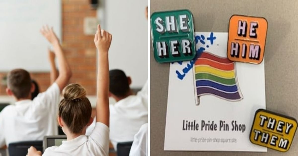 untitled design 11 5.jpg?resize=1200,630 - Students Are Given Pronoun Badges To Wear In School For Easier Gender Identification