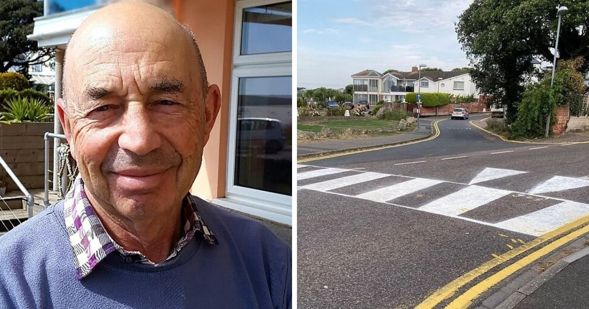 untitled design 23.jpg?resize=1200,630 - 78-Year-Old Man Is Facing Fines After Painting Pedestrian Crossing For His Disabled Wife