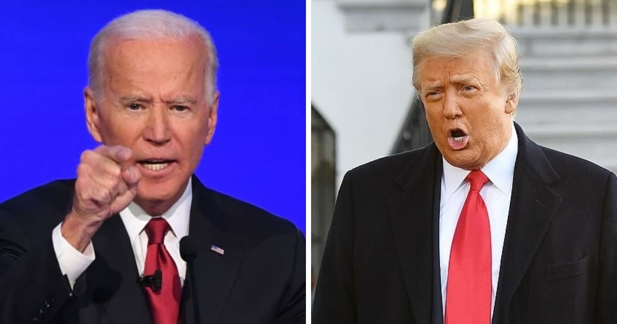 untitled design 4 5.jpg?resize=1200,630 - Biden Insists Donald Trump Is Guilty Of Inciting Insurrection Despite Getting Acquitted By The Senate