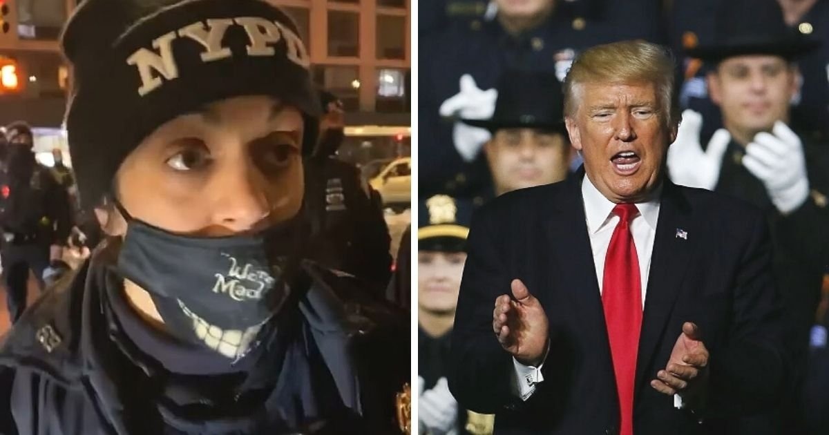 untitled design 7 3.jpg?resize=1200,630 - Police Sergeant Disciplined After Wearing Pro-Trump Patch While On-Duty
