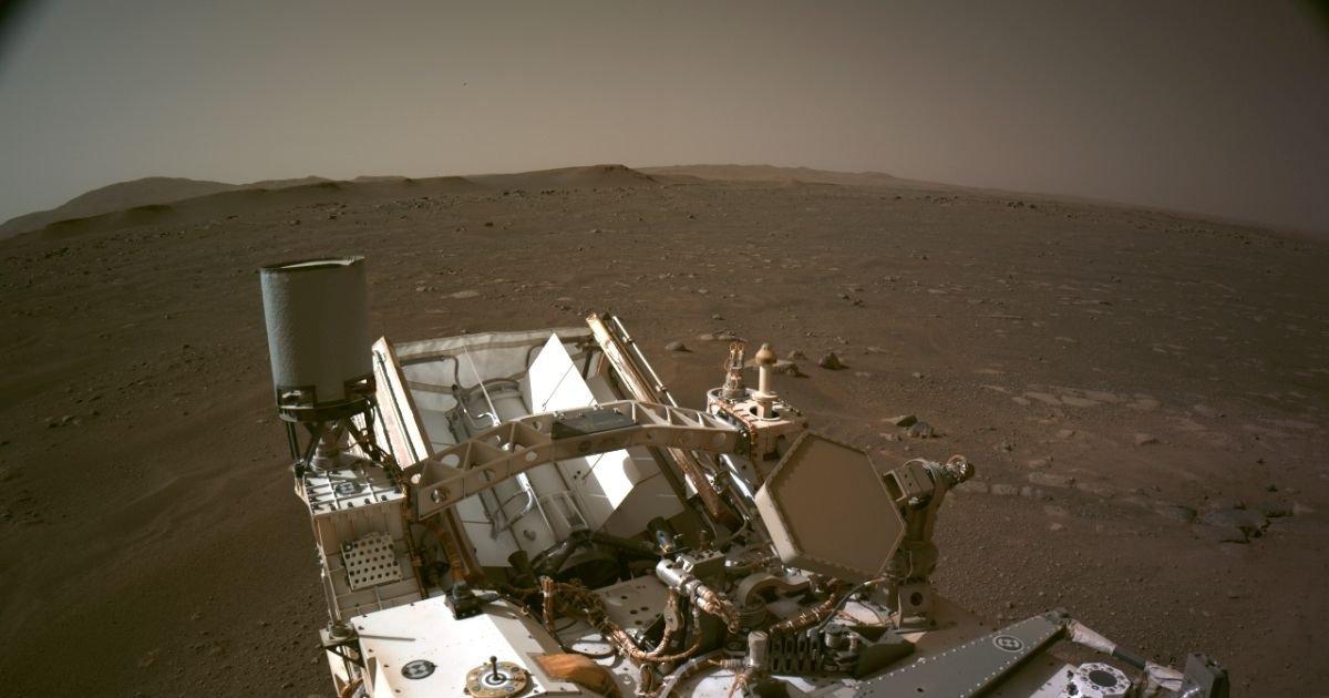 vonjour5.jpg?resize=412,275 - La Nasa dévoile une exceptionnelle photo panoramique de Mars prise par Perseverance