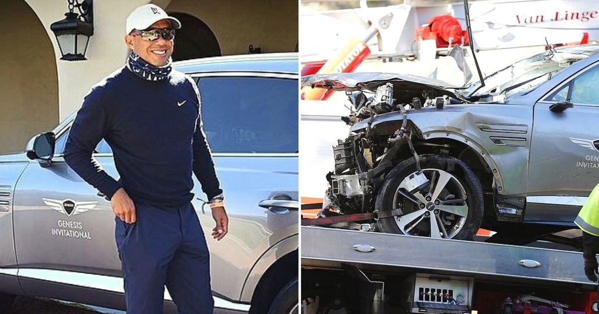 woods5.jpg?resize=412,232 - Tiger Woods' Girlfriend Erica Herman Visits Him Hours After Cops Say He Won't Face Charges