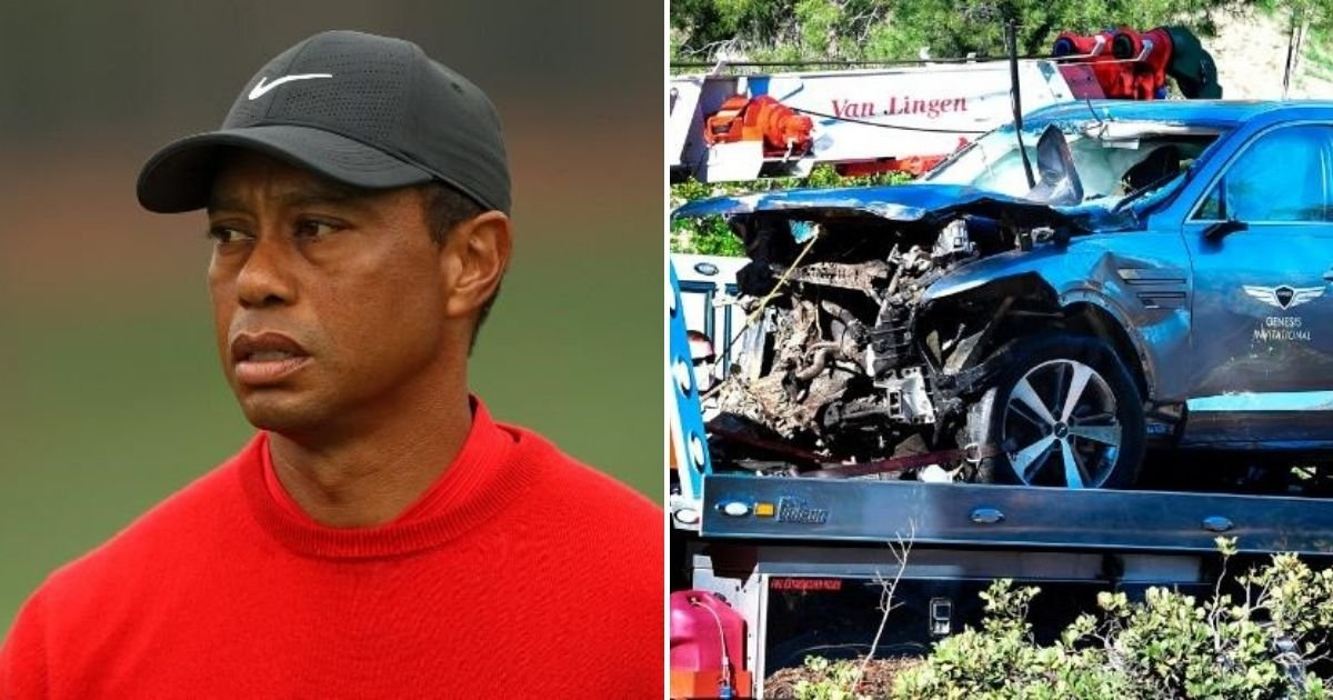 woods6.jpg?resize=412,232 - Tiger Woods Has No Memory Of Horrific Crash That Left Him With Severe Injuries